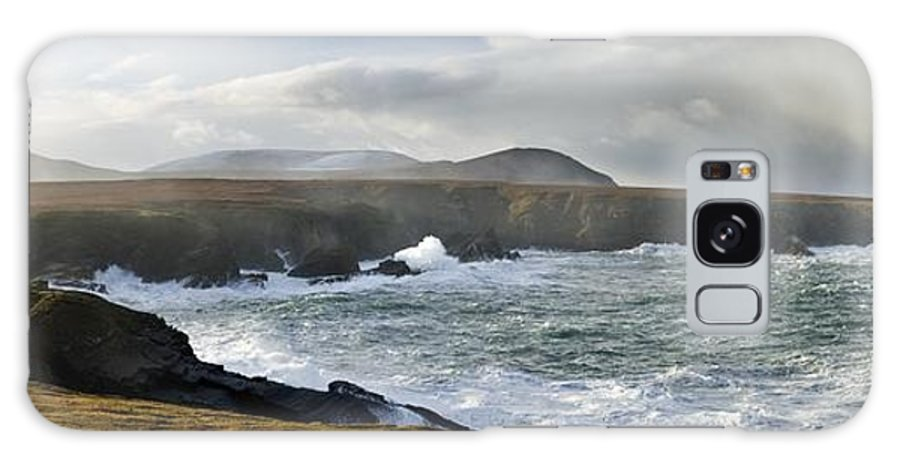 Outdoors Galaxy S8 Case featuring the photograph North Mayo, Co Mayo, Ireland Sea Cliffs by Gareth McCormack