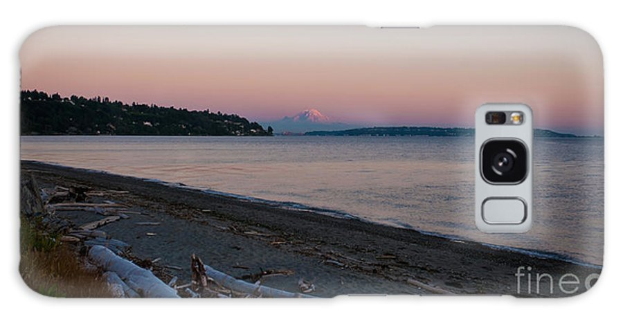 Rainier Galaxy Case featuring the photograph Northwest Evening by Mike Reid