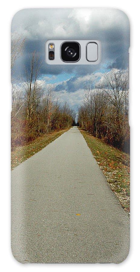 Usa Galaxy S8 Case featuring the photograph November On Macomb Orchard Trail by LeeAnn McLaneGoetz McLaneGoetzStudioLLCcom