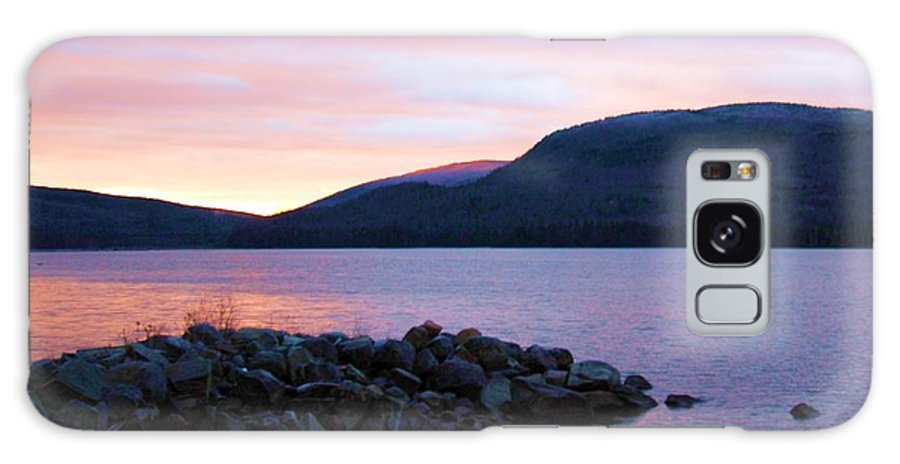 Sunrise Galaxy S8 Case featuring the photograph November Sunrise by Marie Fortin