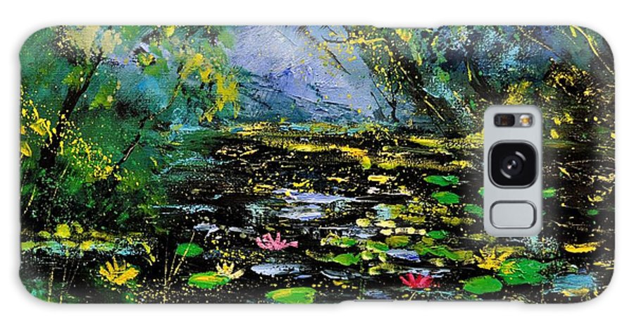 Landscape Galaxy S8 Case featuring the painting Nympheas 561170 by Pol Ledent