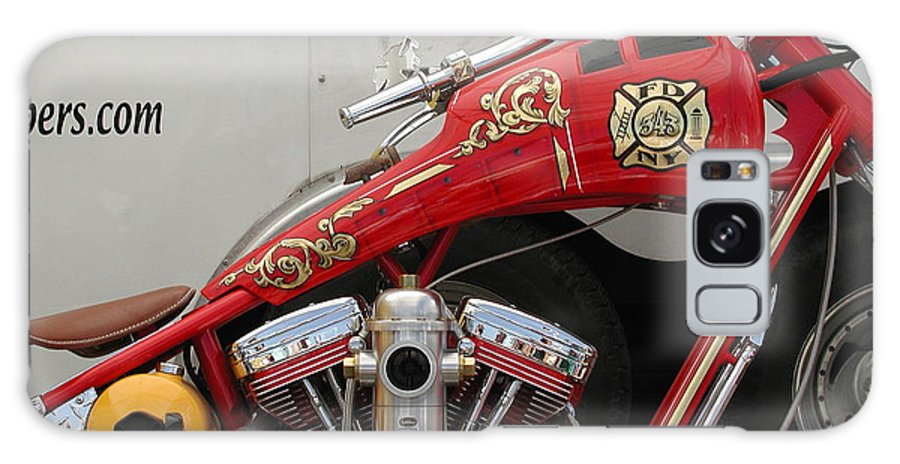 Sturgis Galaxy S8 Case featuring the photograph Occ Fdny Motorcycle by Anna Ruzsan