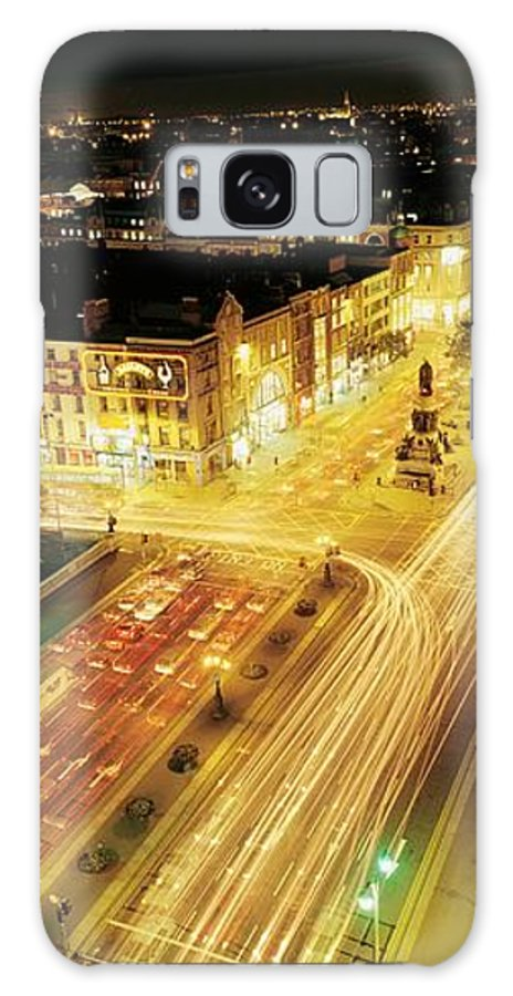Building Galaxy S8 Case featuring the photograph Oconnell Street, Dublin City, Dublin by The Irish Image Collection