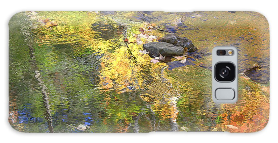 Monet Galaxy S8 Case featuring the photograph October Colors Reflected by Valentino Visentini