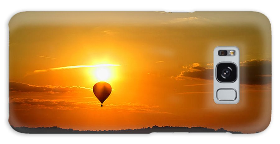 Landscape Galaxy S8 Case featuring the photograph Off Into The Sunset by Lone Dakota Photography