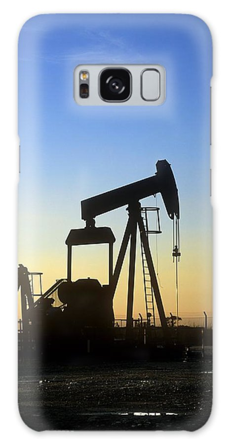 Equipment Galaxy S8 Case featuring the photograph Oil Well Pump by Martin Bond