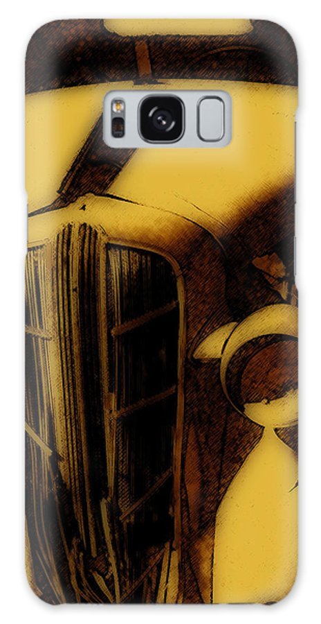 Dodge Galaxy S8 Case featuring the photograph Old Dodge by Steven Loyd