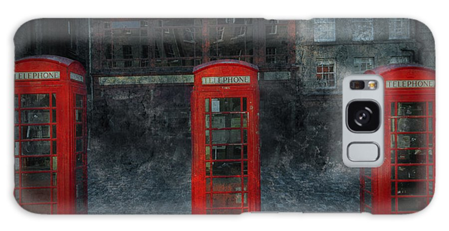 Architecture Galaxy S8 Case featuring the digital art Old Friends by Svetlana Sewell