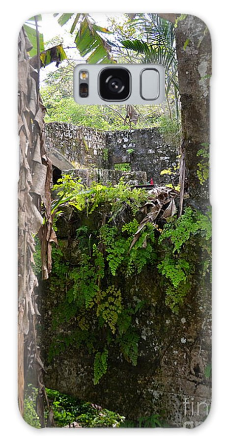 Jamaica Galaxy S8 Case featuring the photograph Old Jamaican Sugar Mill by Carol Bradley