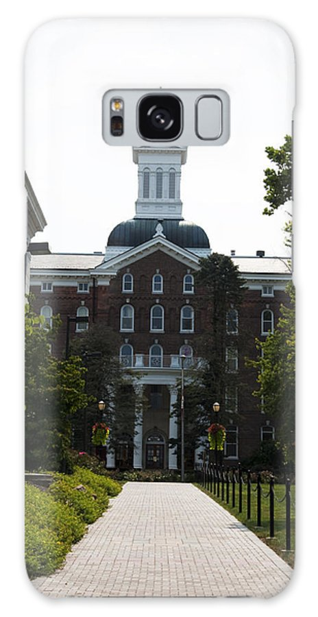 Old Main - Kutztown College Galaxy S8 Case featuring the photograph Old Main - Kutztown College by Bill Cannon