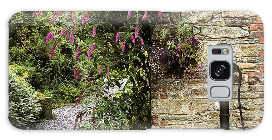 Color Image Galaxy S8 Case featuring the photograph Old Water Pump, Ram House Garden, Co by The Irish Image Collection