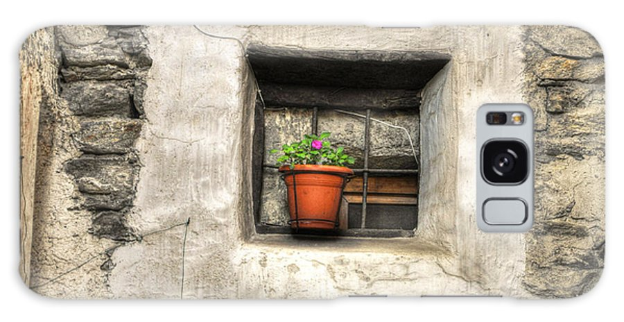 Window Galaxy S8 Case featuring the photograph Old Window by Mats Silvan