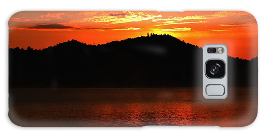 Sunrise Galaxy S8 Case featuring the photograph Onaping Canada Sunrise by Marjorie Imbeau
