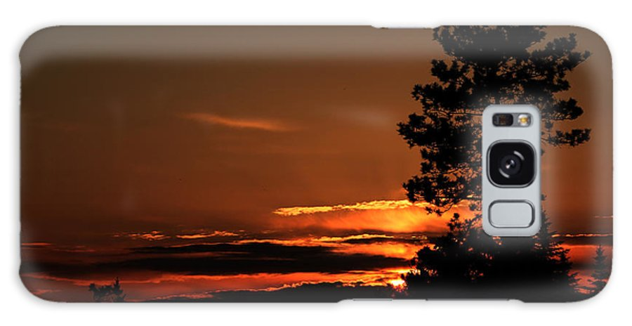 Sunset Galaxy S8 Case featuring the photograph Onaping Canada Sunset 2 by Marjorie Imbeau