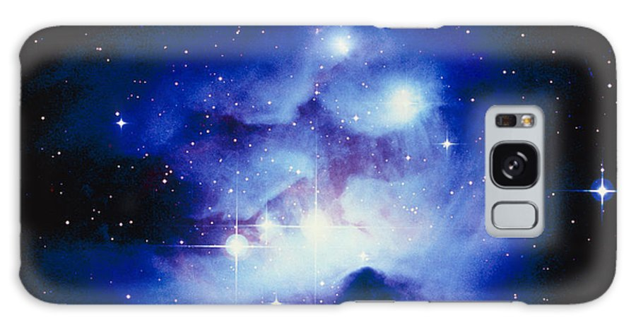 Ngc 1977 Galaxy S8 Case featuring the photograph Optical Image Of The Nebula Ngc 1977 In Orion by Celestial Image Co.