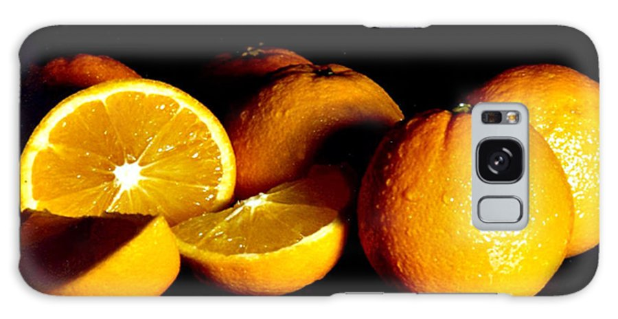 Oranges Galaxy S8 Case featuring the photograph Oranges by Randy Harris