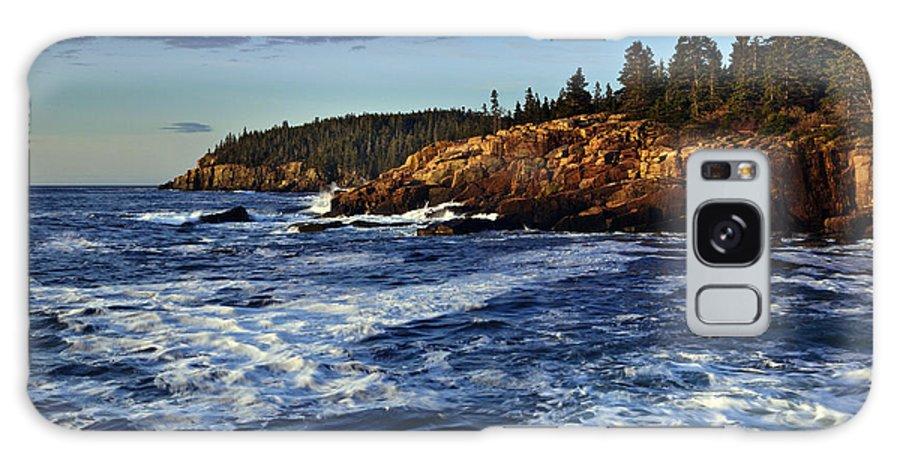Otter Cliffs Galaxy S8 Case featuring the photograph Otter Cliffs by Rick Berk
