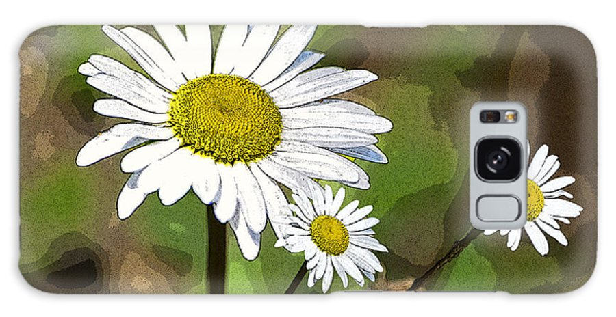 Oxeye Daisy Galaxy S8 Case featuring the photograph Oxeye Daisy by Paul Mashburn