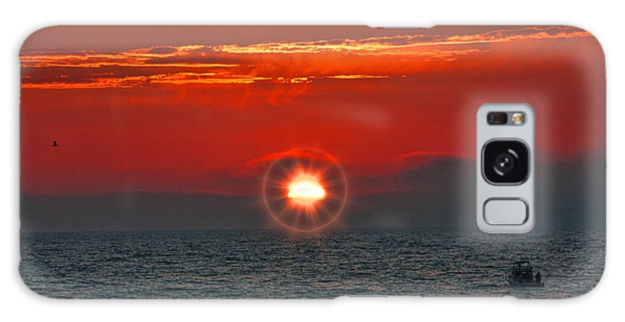 Pacific Galaxy S8 Case featuring the photograph Pacific Sunset by Tommy Anderson