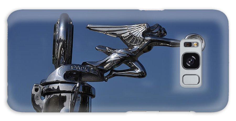 Packard Angel Hood Ornament Galaxy S8 Case featuring the photograph Packard Angel Hood Ornament by Bill Cannon