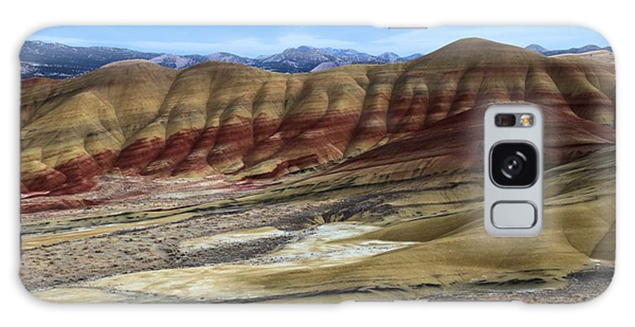 John Day Fossil Beds Galaxy S8 Case featuring the photograph Painted Sunset by Adam Jewell