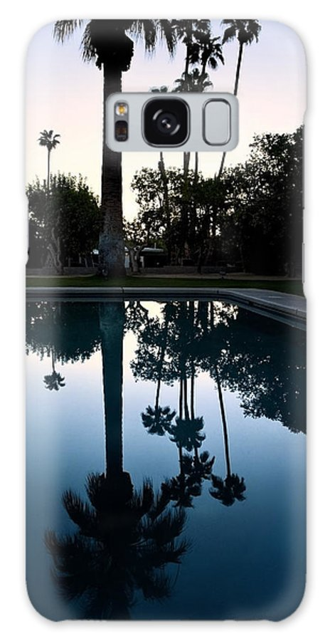 Palm Galaxy S8 Case featuring the photograph Palm Desert California by Ken Howard