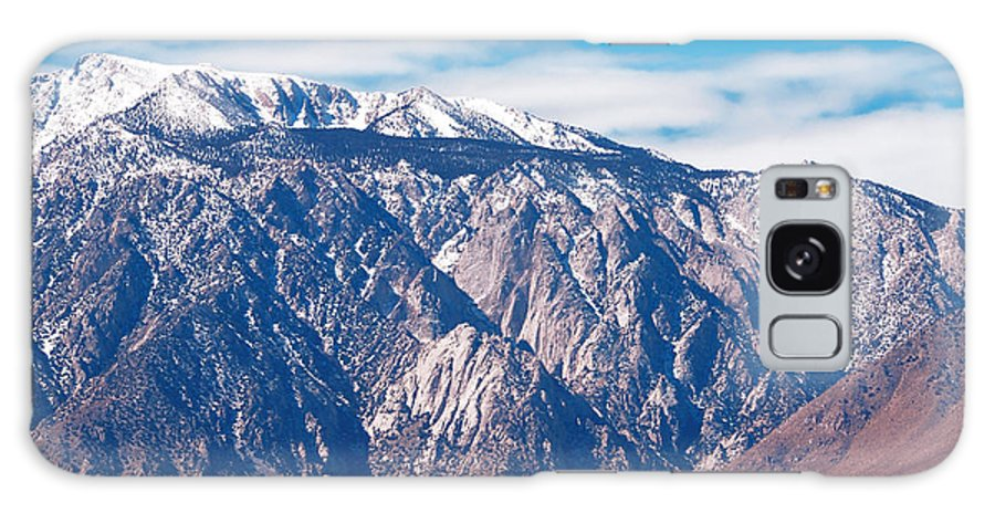 Backcountry Galaxy S8 Case featuring the photograph Panamint Mountain Range In Death Valley by Anne Kitzman