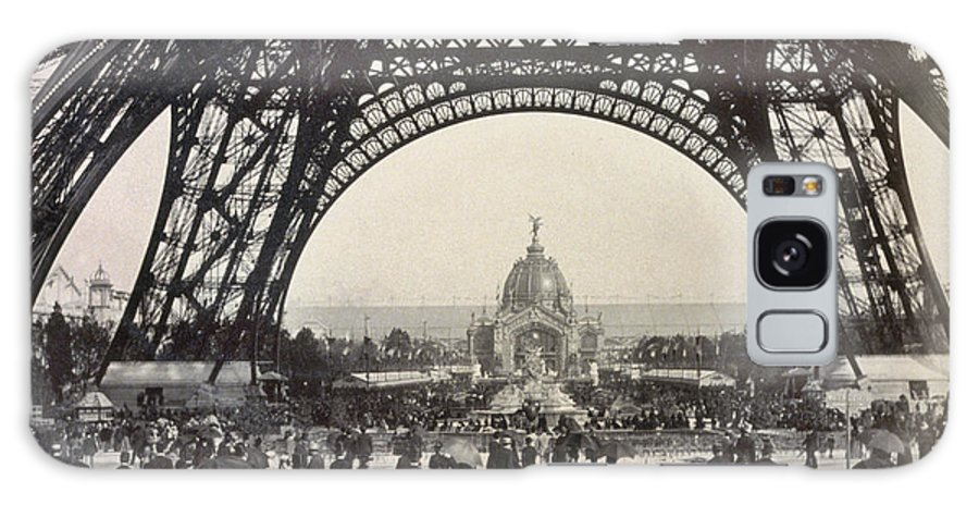 1889 Galaxy S8 Case featuring the photograph Paris Exposition, 1889 by Granger