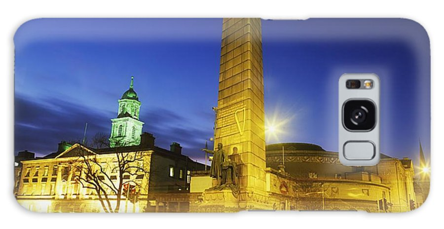 Outdoors Galaxy S8 Case featuring the photograph Parnell Square, Dublin, Ireland Parnell by The Irish Image Collection
