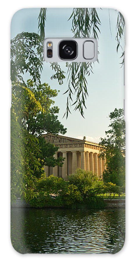 Parthenon Galaxy S8 Case featuring the photograph Parthenon At Nashville Tennessee 12 by Douglas Barnett
