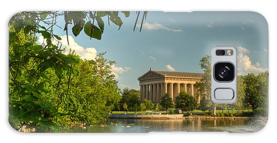 Parthenon Galaxy S8 Case featuring the photograph Parthenon At Nashville Tennessee 13 by Douglas Barnett