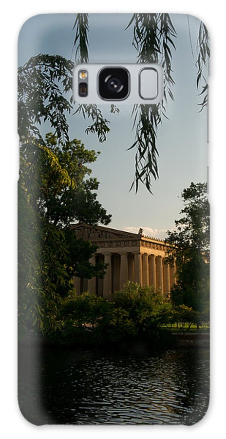 Parthenon Galaxy S8 Case featuring the photograph Parthenon At Nashville Tennessee 14 by Douglas Barnett