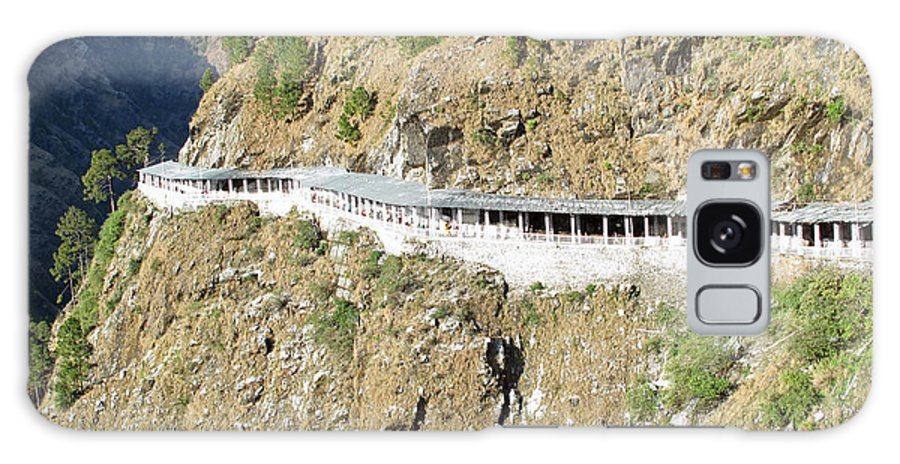 Vaishno Devi Galaxy S8 Case featuring the photograph Path Leading To The Shrine Of Vaishno Devi by Ashish Agarwal