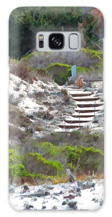 Stairs Galaxy S8 Case featuring the photograph Path To Somewhere by Diane Wood