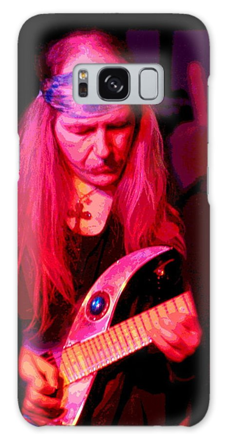 Uli Jon Roth Galaxy S8 Case featuring the photograph Peace And Uli Roth by Ben Upham