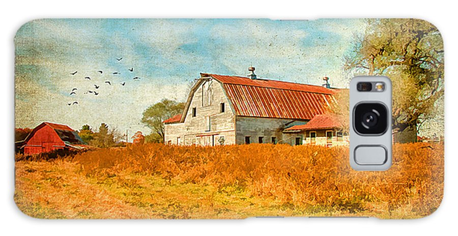 Agriculture Galaxy S8 Case featuring the photograph Peaceful Day's by Darren Fisher