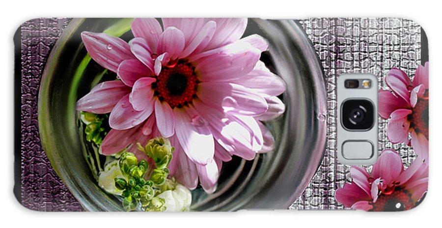 Daisy Galaxy S8 Case featuring the photograph Peeking Eyes by Bonnie Willis