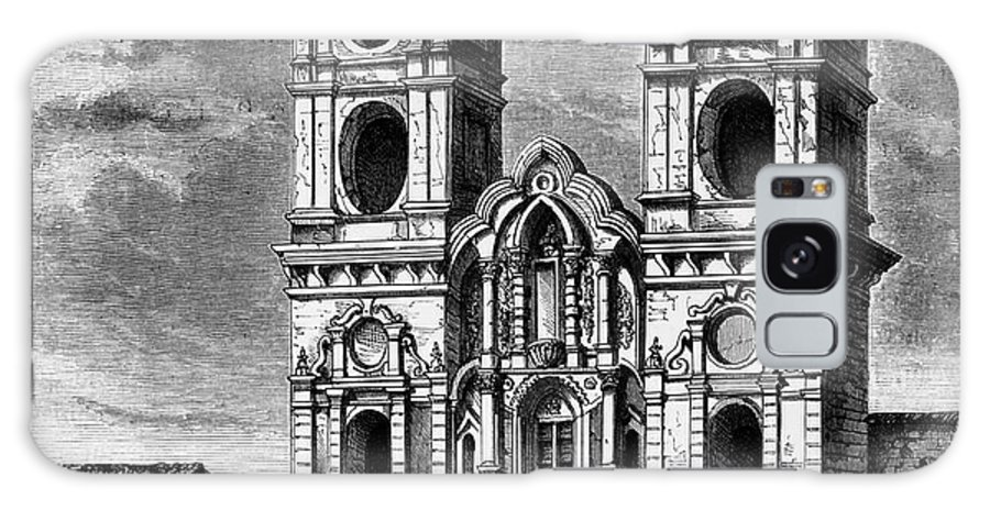 17th Century Galaxy S8 Case featuring the photograph Peru: Jesuit Church, 1869 by Granger
