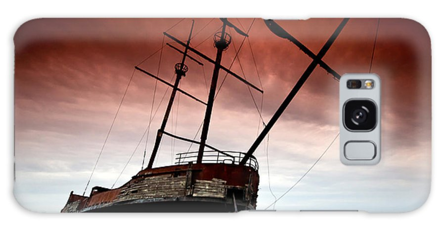 Pirate Galaxy S8 Case featuring the photograph Pirate Ship 2 by Cale Best