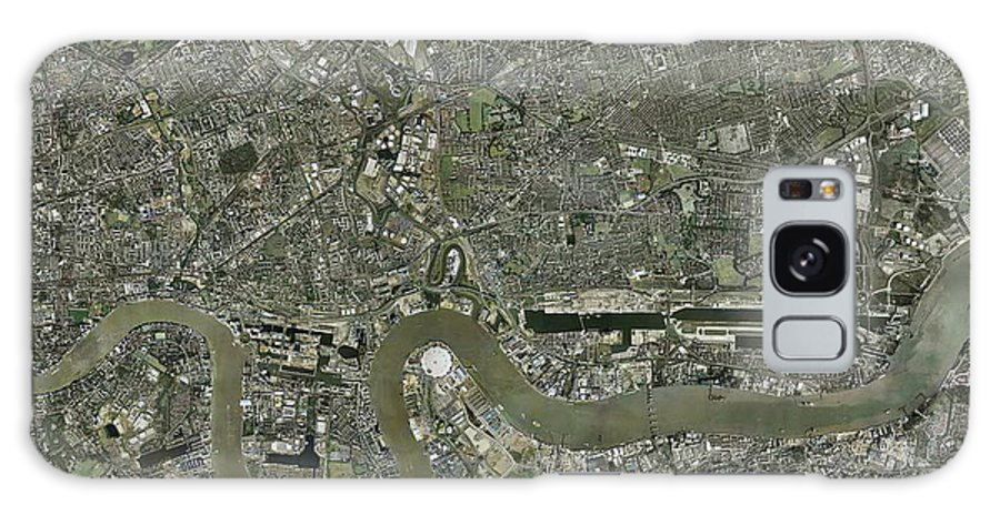 2012 Olympics Galaxy S8 Case featuring the photograph Planned London Olympics Site by Getmapping Plc