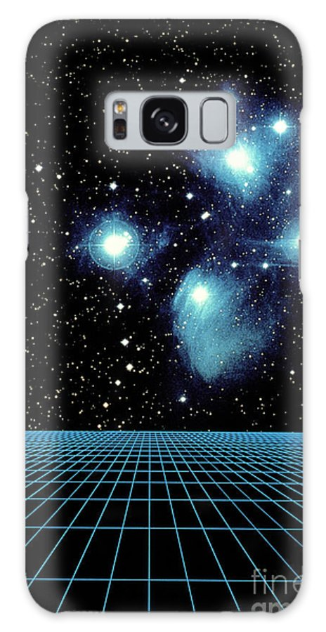 Astronomy Galaxy S8 Case featuring the photograph Pleiades In Taurus by Science Source