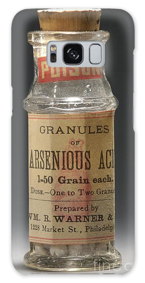 Science Galaxy S8 Case featuring the photograph Poison Circa 1900 by Science Source
