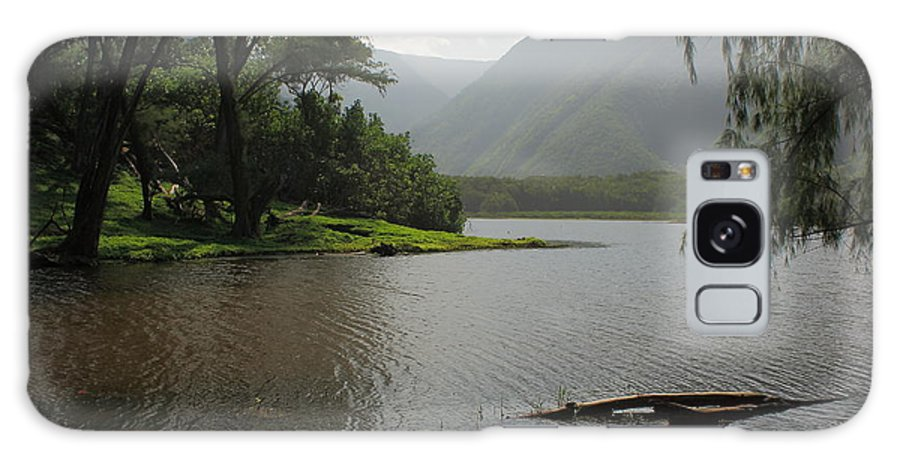 Hawaii Galaxy S8 Case featuring the photograph Pololu Valley Off Awini Trail by Scott Rackers