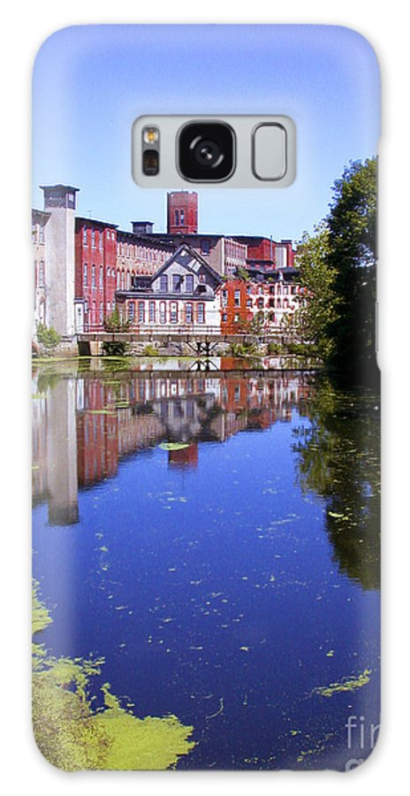 Warwick Galaxy S8 Case featuring the photograph Pontiac Mills - Vertical by Tim Mulina