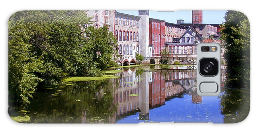 Warwick Galaxy S8 Case featuring the photograph Pontiac Mills Overall 2 by Tim Mulina