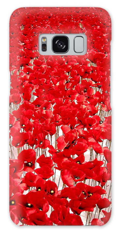 Europe Galaxy S8 Case featuring the photograph Poppy Meadow ... by Juergen Weiss