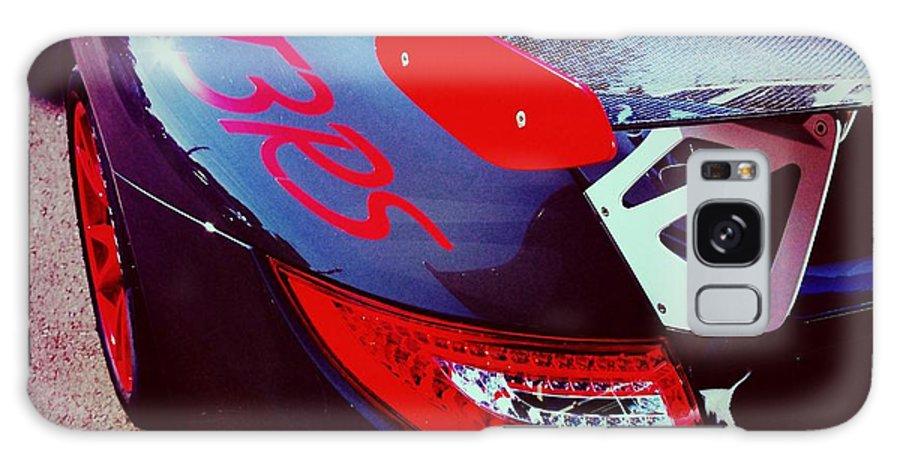 Porsche Galaxy S8 Case featuring the photograph Porsche Gt3 Rs Back Corner by Shehan Wicks