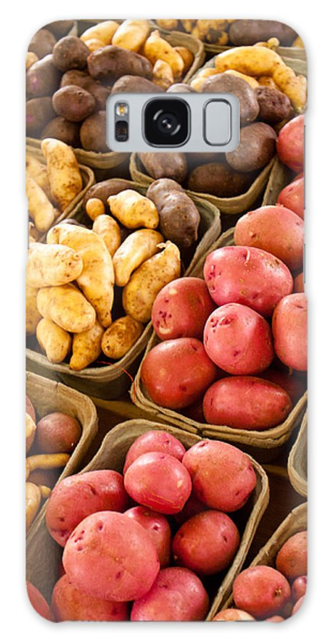 Potatoes Galaxy S8 Case featuring the photograph Potatoes by Lauri Novak