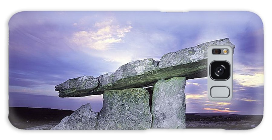 Archeology Galaxy S8 Case featuring the photograph Poulnabrone Dolmen, The Burren, Co by The Irish Image Collection
