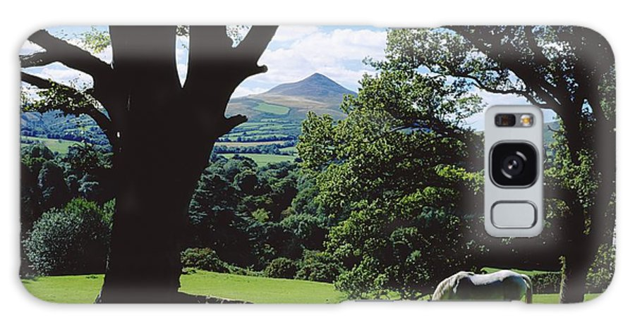 Day Galaxy S8 Case featuring the photograph Powerscourt Estate, County Wicklow by The Irish Image Collection